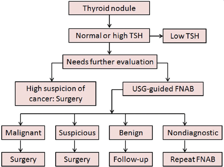 Management Of Thyroid Nodules In Adults Naik D Jebasingh K F